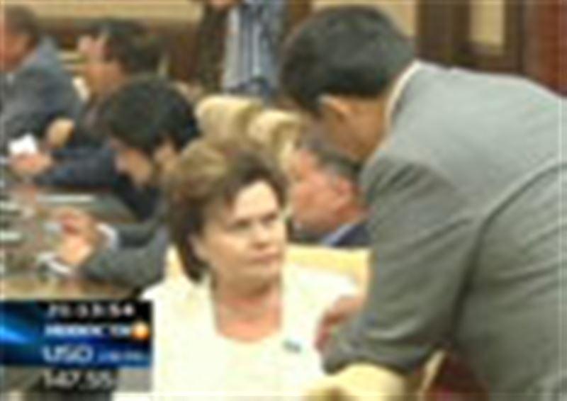 В Астане завершилась третья сессия четвёртого парламентского созыва