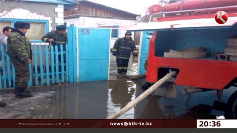 Алматы облысында бірнеше ауылды су басты