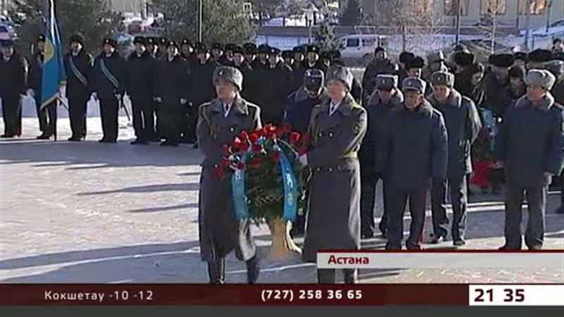 Воины-интернационалисты отмечают годовщину вывода советских войск из Афганистана.
