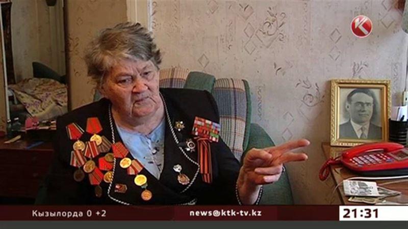 Бывшая партизанка - участница проекта «Народный герой»