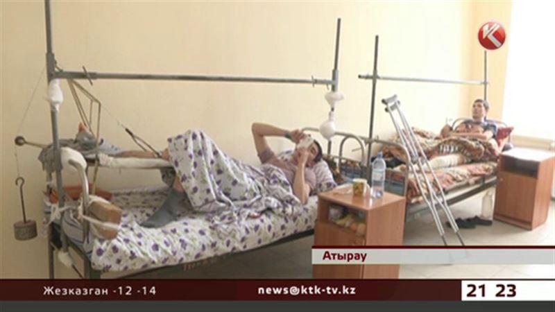Гололед: с начала месяца в травмпункты Атырау обратились 400 человек
