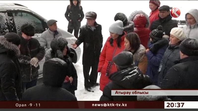 Атырау облысында берешегі бар жүздеген отбасы сусыз қалды