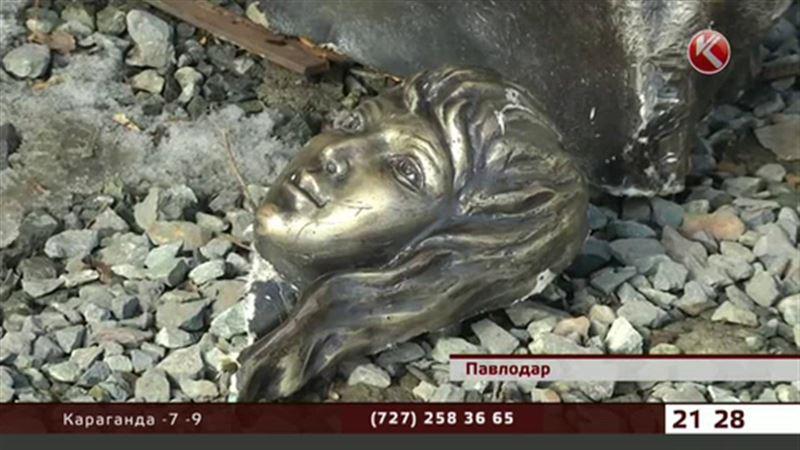 Павлодарскую русалку обезглавили