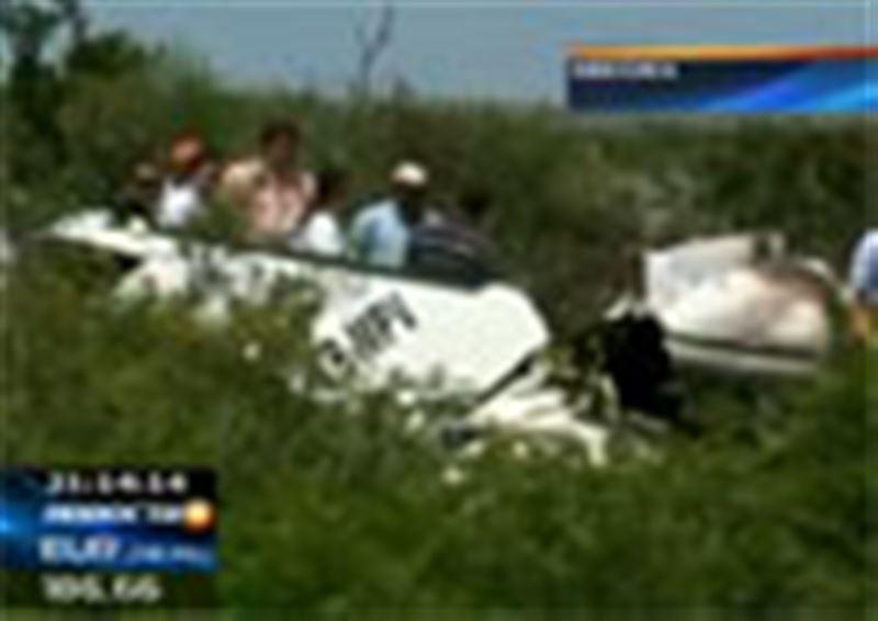 Авиакатастрофа в Мексике. Небольшой самолет загорелся во время полета, а потом рухнул на землю