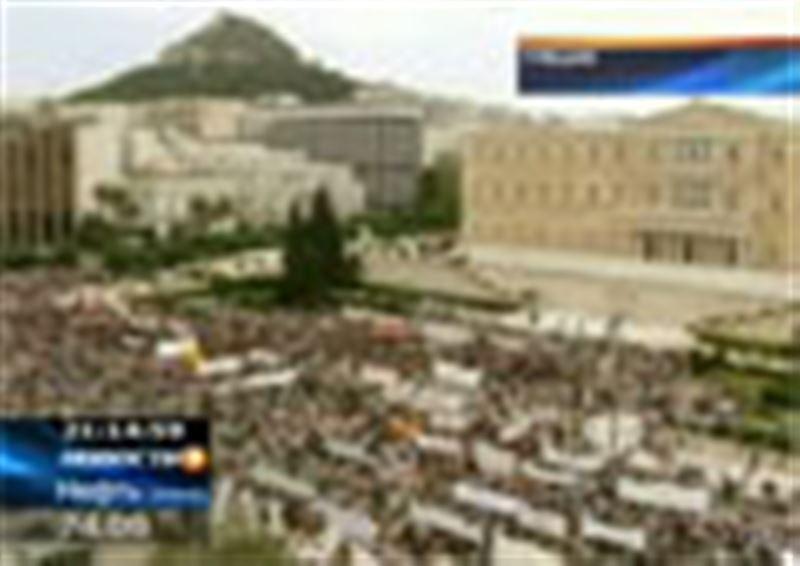 Греция вновь парализована общенациональной забастовкой, уже пятой за последние полгода