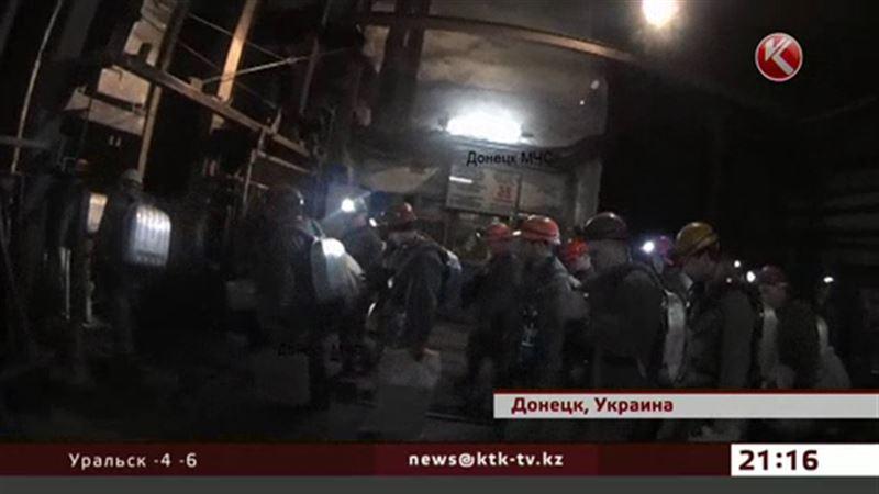 На шахте в Донецке, одной из самых глубоких в мире, прогремел взрыв