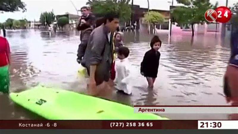 На Аргентину обрушилась природная стихия
