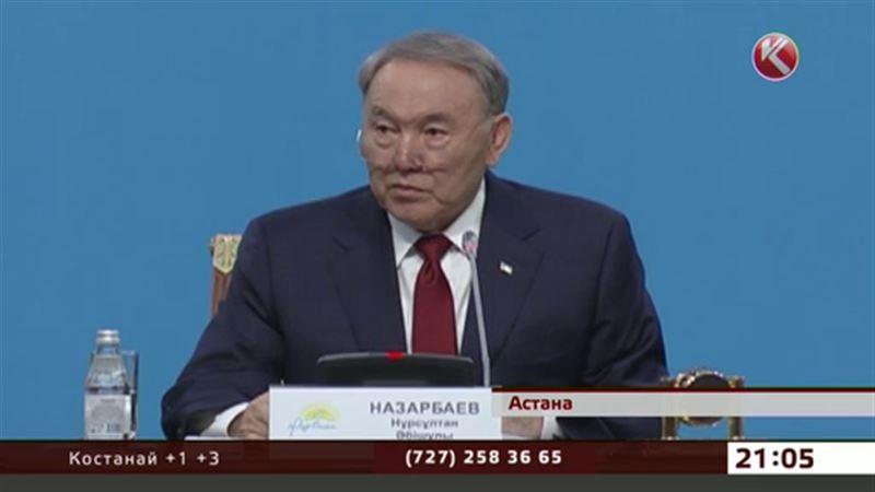 Нурсултан Назарбаев уже представил свою предвыборную программу