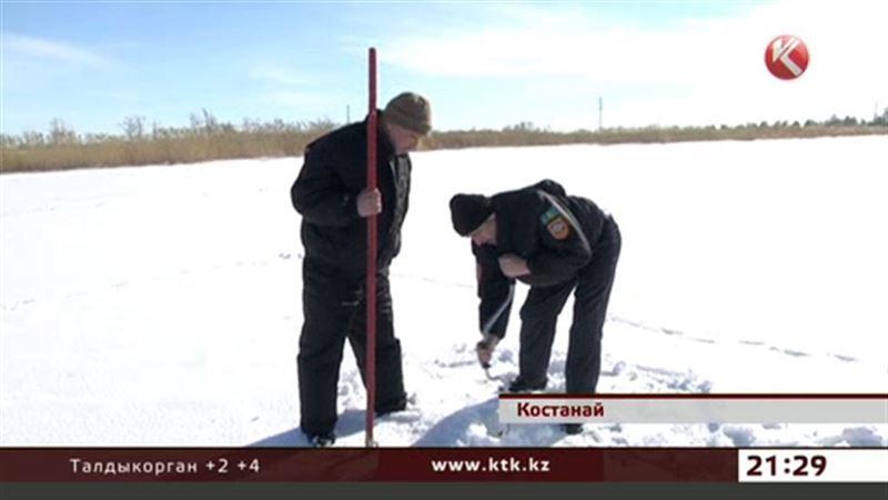 От подледной рыбалки советуют отказаться – на Тоболе тонкий лед