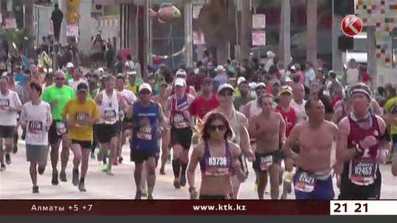Лос-анджелесский марафон: сотни участников сошли с дистанции из-за жары