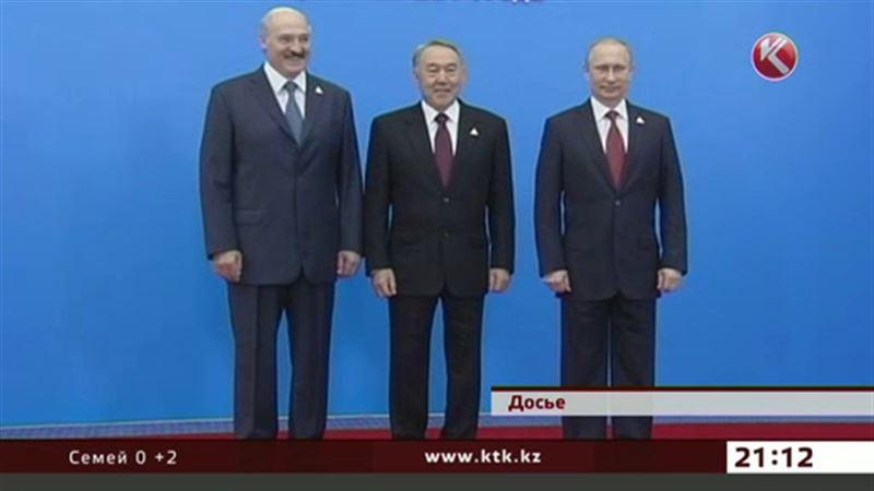 Лидеры Казахстана, России и Беларуси соберутся в Астане