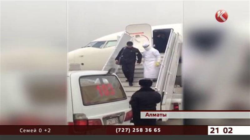 Эбола у пассажира, направлявшегося в Костанай, не подтвердилась