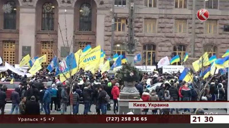 В Киеве опять протестуют – участники боевых действий требуют земли