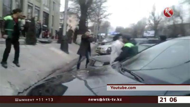 Стрельба в центре Алматы