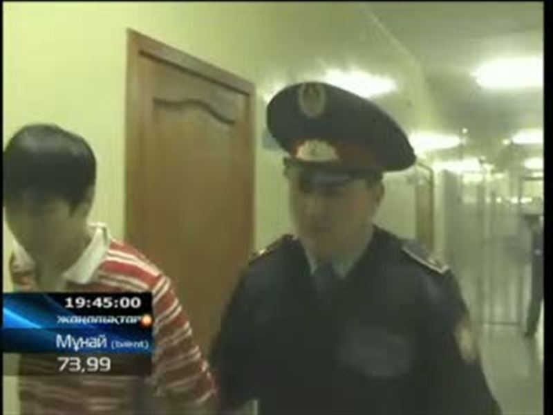 В Астане арестовали банду, которая грабила офисы бизнесменов