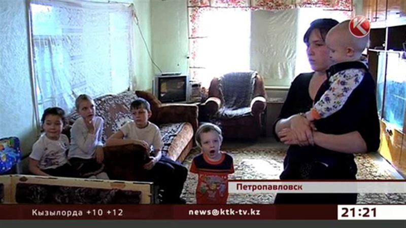В Петропавловске пятеро детей могут остаться на улице