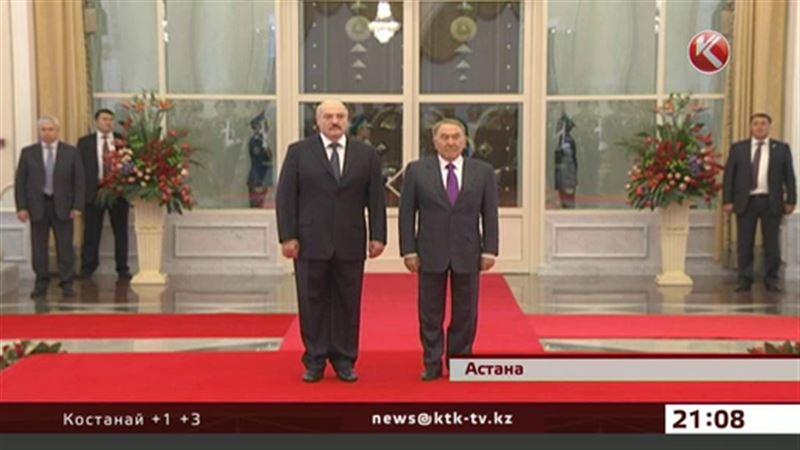 Президент Беларуси прибыл в Астану