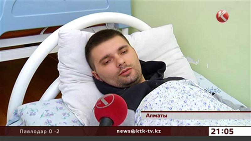 Алматинец, стрелявший в парковщиков, оказался в больнице с сотрясением