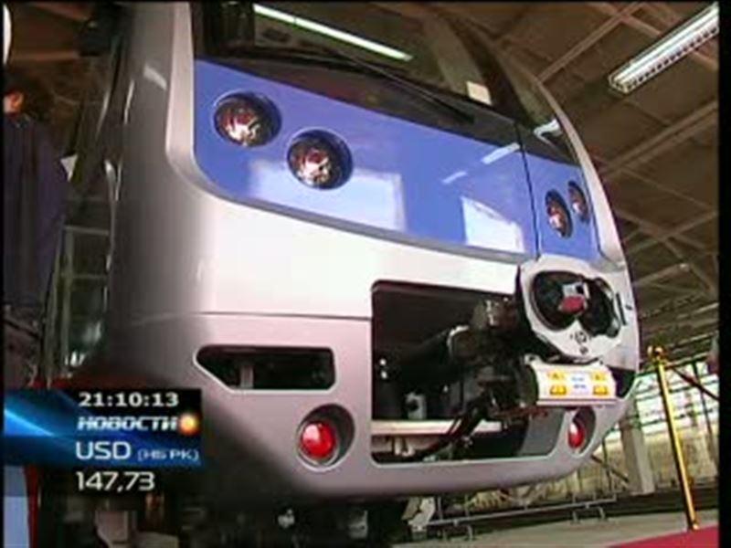 Из Южной Кореи прибыли первые составы для алматинского метро