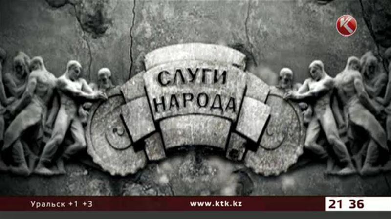 На вопросы Артура Платонова отвечает председатель партии «Ауыл» Гани Калиев