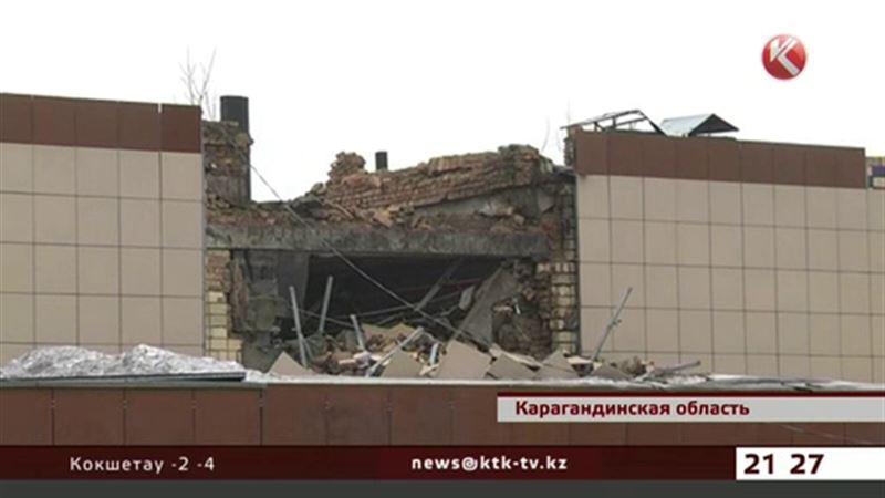 В Карагандинской области обрушилась крыша сельского клуба