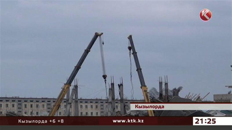 Обрушение многоэтажки в Кызылорде: возбуждено уголовное дело