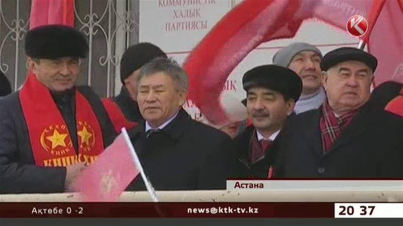Қазақстан Коммунистік партиясы атынан Президенттікке кандидат Тұрғын Сыздықов Ақмола облысында жүр