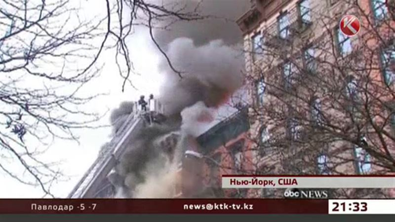 На Манхэттене обрушились три дома