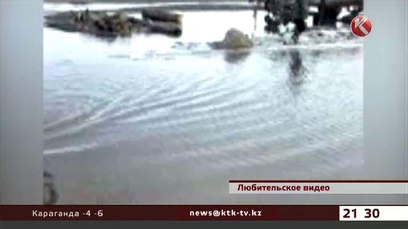 Талыми водами топит поселки ВКО