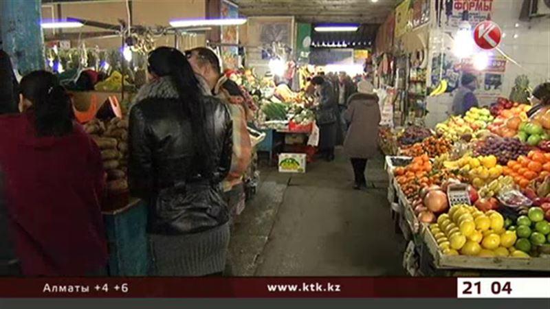 В Казахстане подорожали овощи и фрукты, а сахар стал дешевле