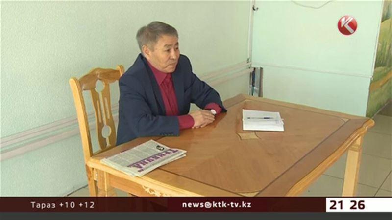 Сыздыков агитировал за себя на фабрике «Большевичка»
