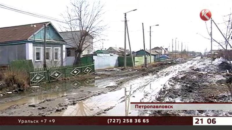 Улицы Петропавловска превращаются в месиво