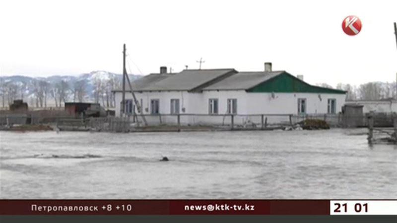 Город Абай затопило за считанные часы