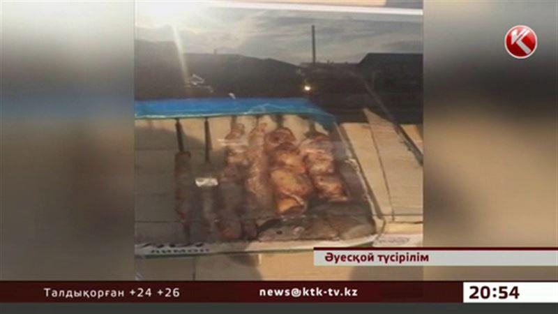 Астанада кәуабынан  егеуқұйрық шыққан дәмхана иесі қашып кетті