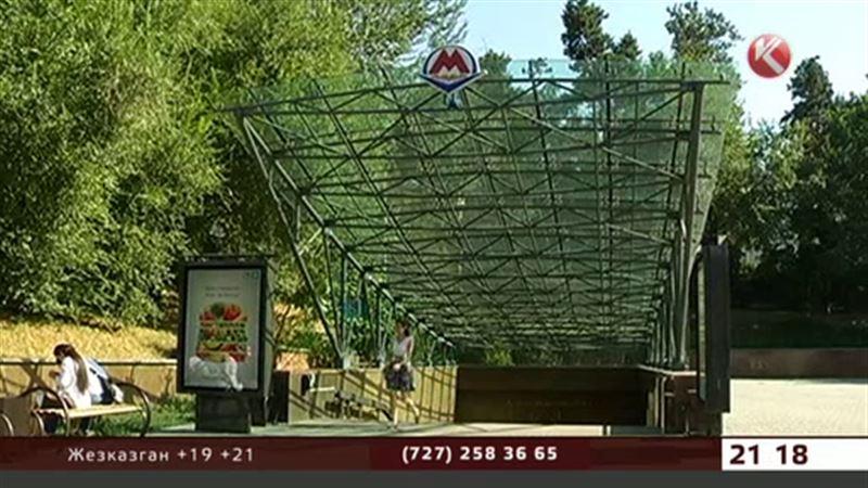 Новые станции алматинского метро откроют через неделю
