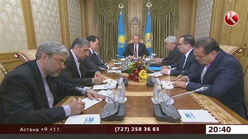 Ресми Иран Назарбаевқа алғыс білдірді
