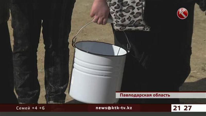 Жители павлодарской глубинки неожиданно остались без воды