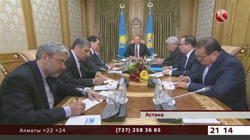 Назарбаева поблагодарили за помощь при переговорах по иранскому ядерному вопросу