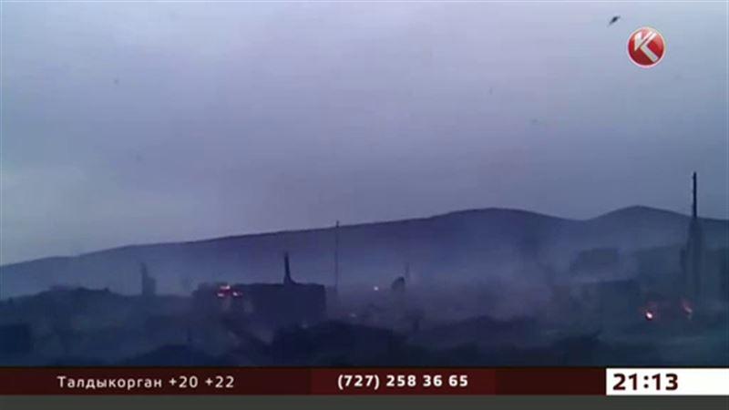 1200 домов поглотил пожар в Хакасии