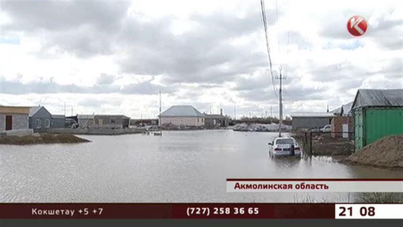 Поток воды из Карагандинской области может смыть акмолинские села