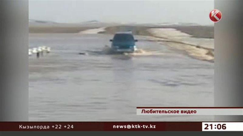Паводки блокируют движение на междугородних трассах