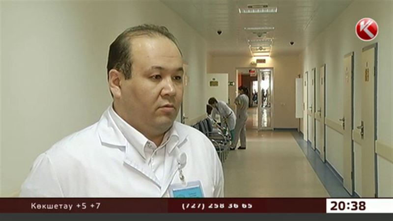 Астанада дәрігерлер мен студенттер жаппай астан ұшынды