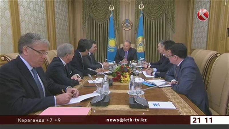 Судьбу Кашагана обсудили Нурсултан Назарбаев и глава «Total»