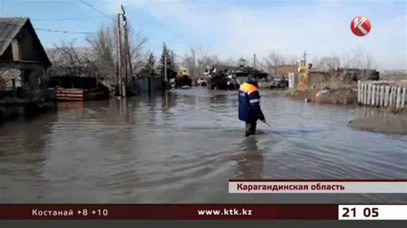 Паводок пришёл еще в 14 сёл Карагандинской области