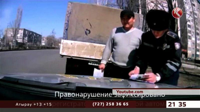 Полицейские Павлодара решили перевоспитать водителей-грязнуль