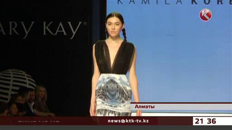 Чарын на куртках, классика в кедах и жженая кожа - Казахстанская неделя моды стартовала