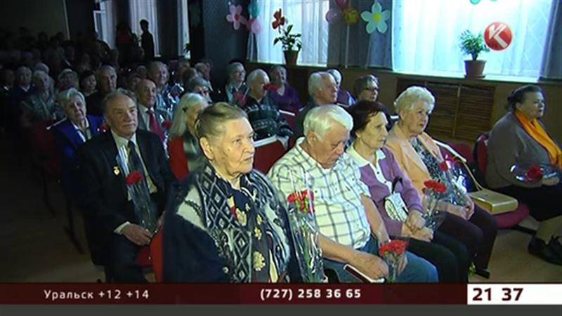 Тружеников тыла чествовали сегодня в Алматы