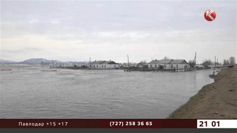 В Акмолинской области ждут катастрофического наводнения