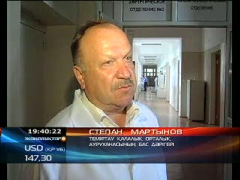 В Темиртау ВИЧ-инфицированный пациент выпрыгнул из окна больницы и разбился насмерть