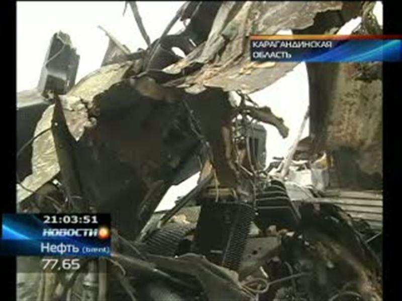 Крупная авария в Карагандинской области. В Шетском районе перевернулся автобус